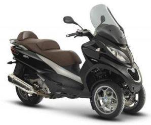 Обзор характеристик гибридного скутера Piaggio MP3 500 с фото и видео
