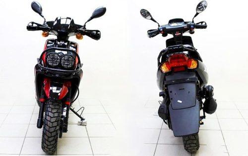 фото скутера ямаха джамбо вид спереди и сзади