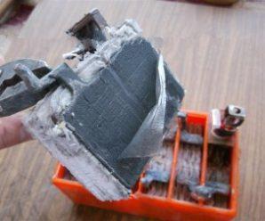Устройство и разборка аккумулятора скутера (фотоотчет)