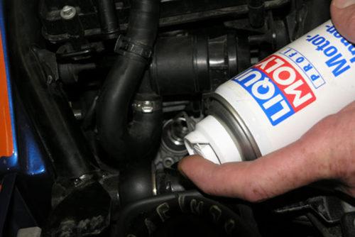 консервация двигателя