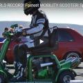 Мини скутер побил мировой рекорд скорости +ВИДЕО