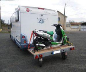 Перевозка скутера — как легко перевезти мопед