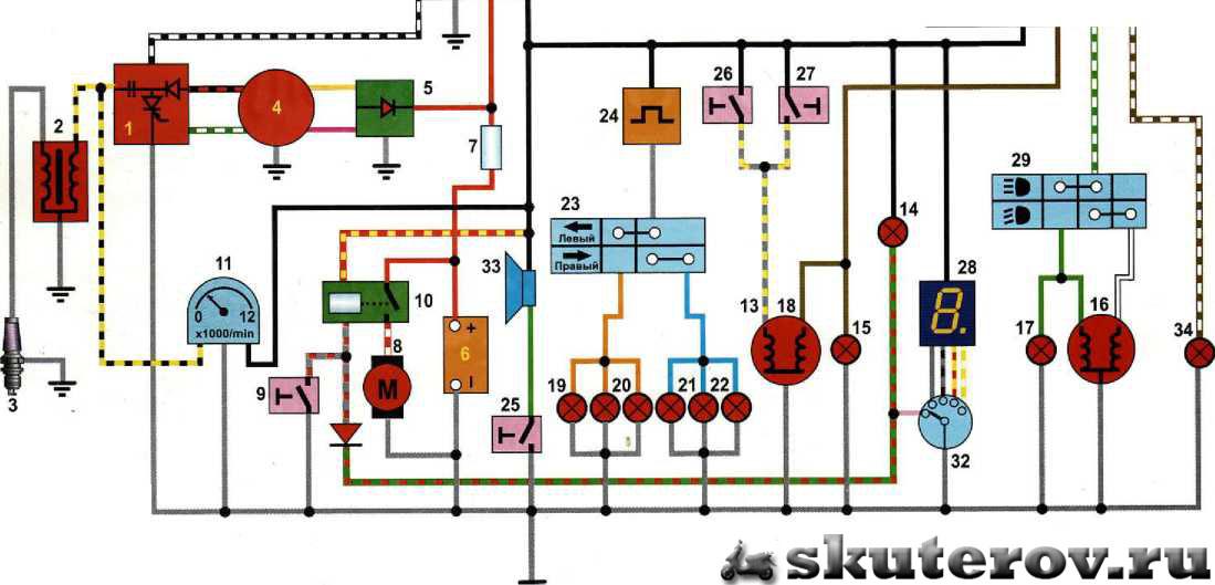 Alpha схема электрооборудования