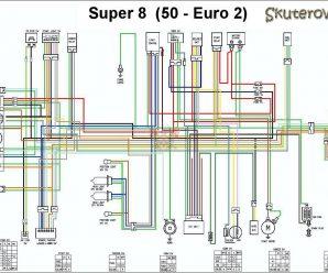 Схема соединений Kymco Super 8 50