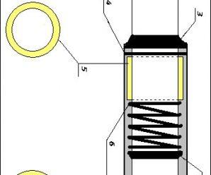 Разборка и ремонт амортизаторов передней вилки Honda Dio AF