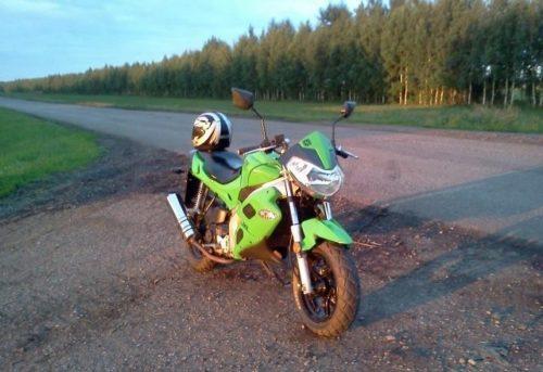 скутер форсаж 50 зеленый