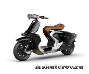 Yamaha Gen – концепция скутера с крыльями