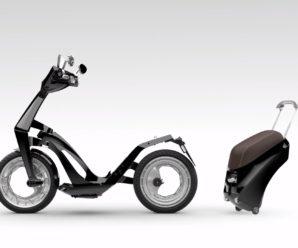 Ujet представит складной электрический скутер на 2018 CES News