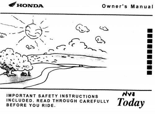 Хонда тудей скутер технические характеристики
