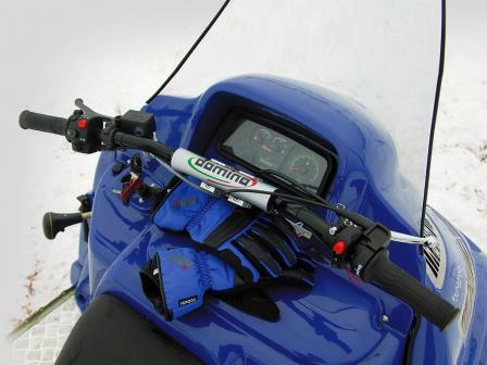 фото приборной панели снегохода альпина шерп