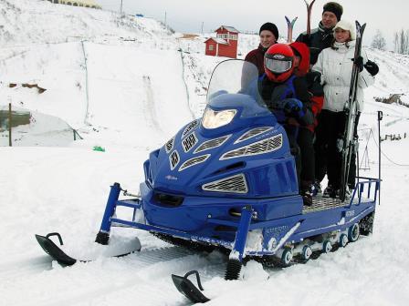 фото снегохода шерпа вид спереди