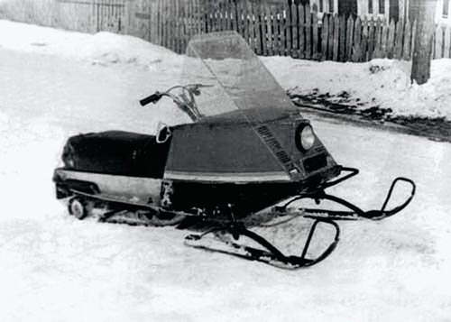 прототип снегохода икар