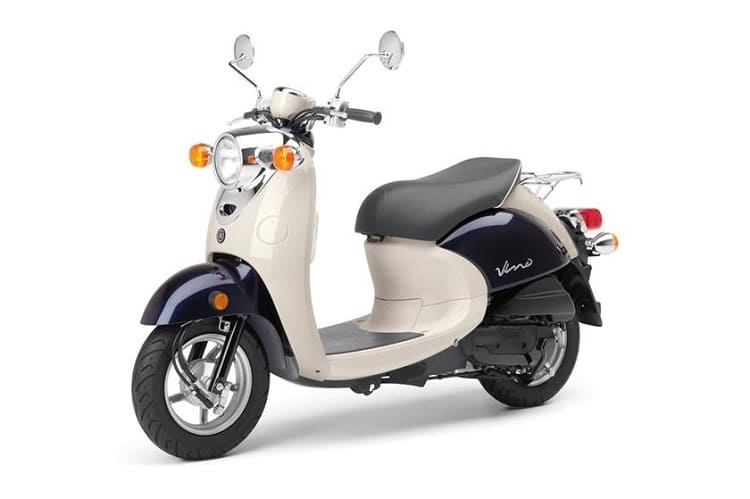 Yamaha Vino Classic фото
