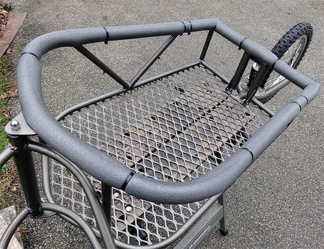 Фото одноколесного прицепа для велосипеда