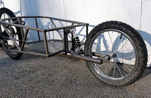 Коляска для велосипеда - почти готовый вариант