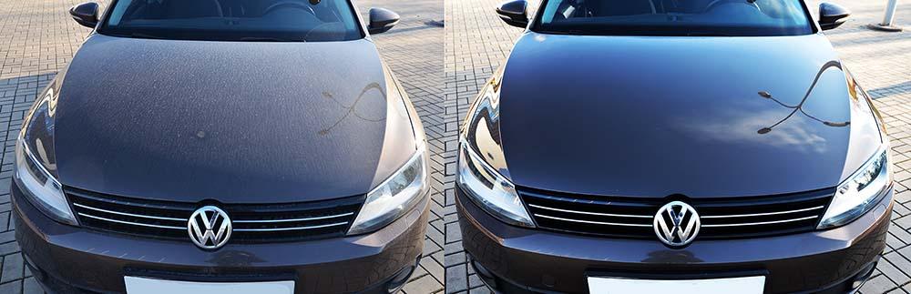 Фото VW клиента до и после