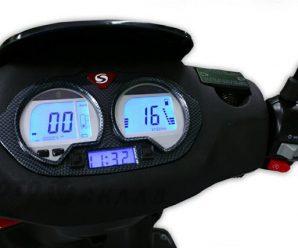 Электронный спидометр на скутер