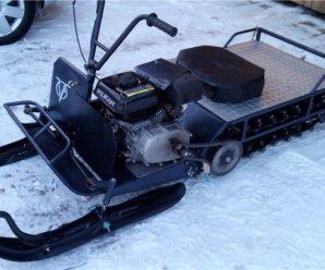 Снегоход Рыбак 2-МР