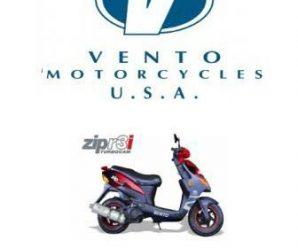 Инструкция по обслуживанию скутера Vento Zip r3i