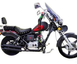 Обзор мопеда Джордан (мини-чоппер Jordan 110cc 50Q-D)