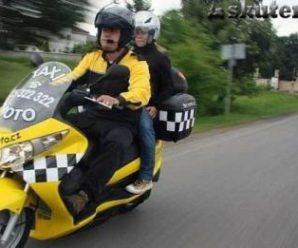 Мототакси: как заработать владельцу скутера