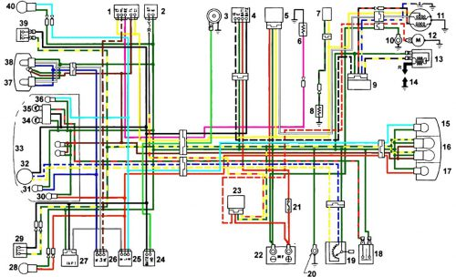 Схема проводки хонда дио 552