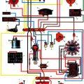 Электрическая схема мотороллера Муравей