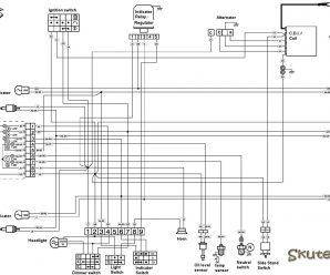 Электрическая схема Peugeot XP6 50