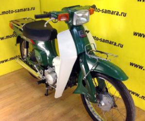 Мопед Suzuki Birdie с двигателями 50, 80 и 90 кубических сантиметров